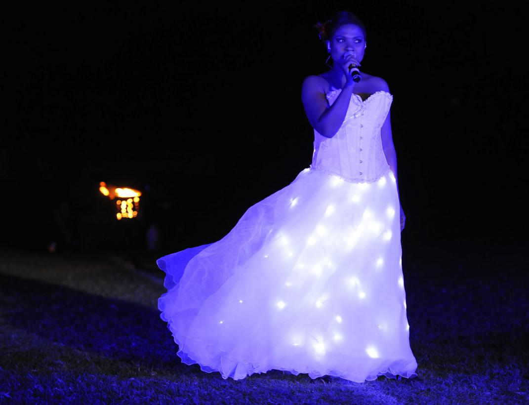 LED Costumed Singer or Dance Spectacle