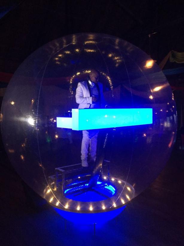 DJ in a Bubble