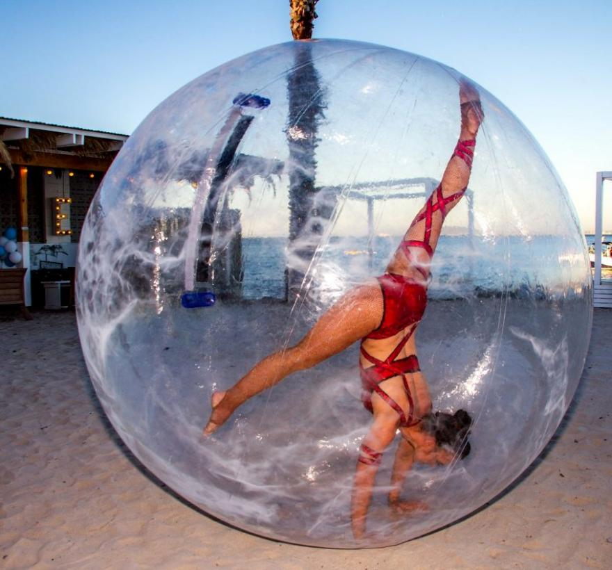 Bubble Gymnasts
